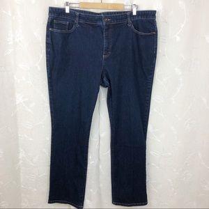 St. John's bay straight leg jean size 20